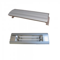PLAFONIERA SPACE STB-60H - T8 SILVER