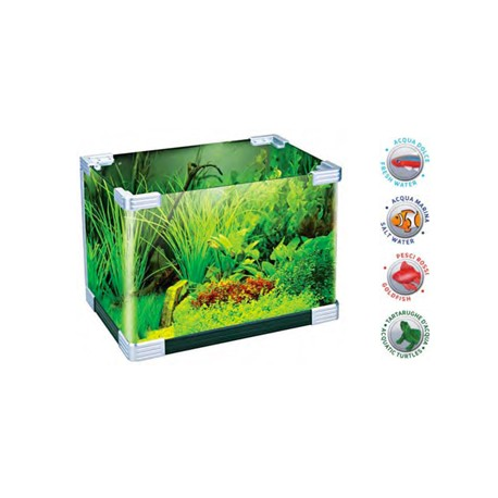 acquario mini tank asd 430 family pet srl
