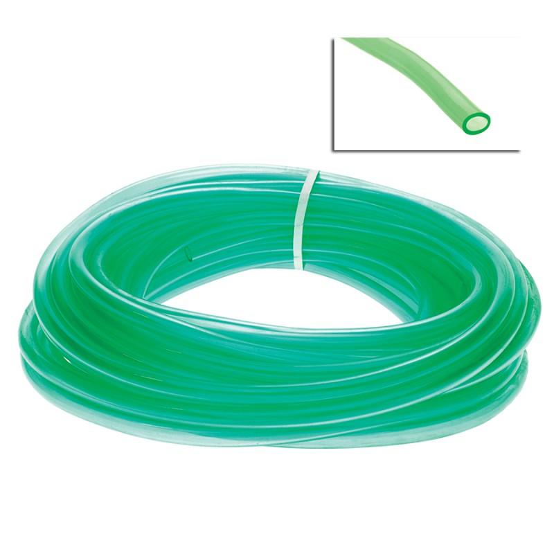 Tubo flessibile in pvc di colore verde diametro 16x22 for Tipi di tubi in pvc